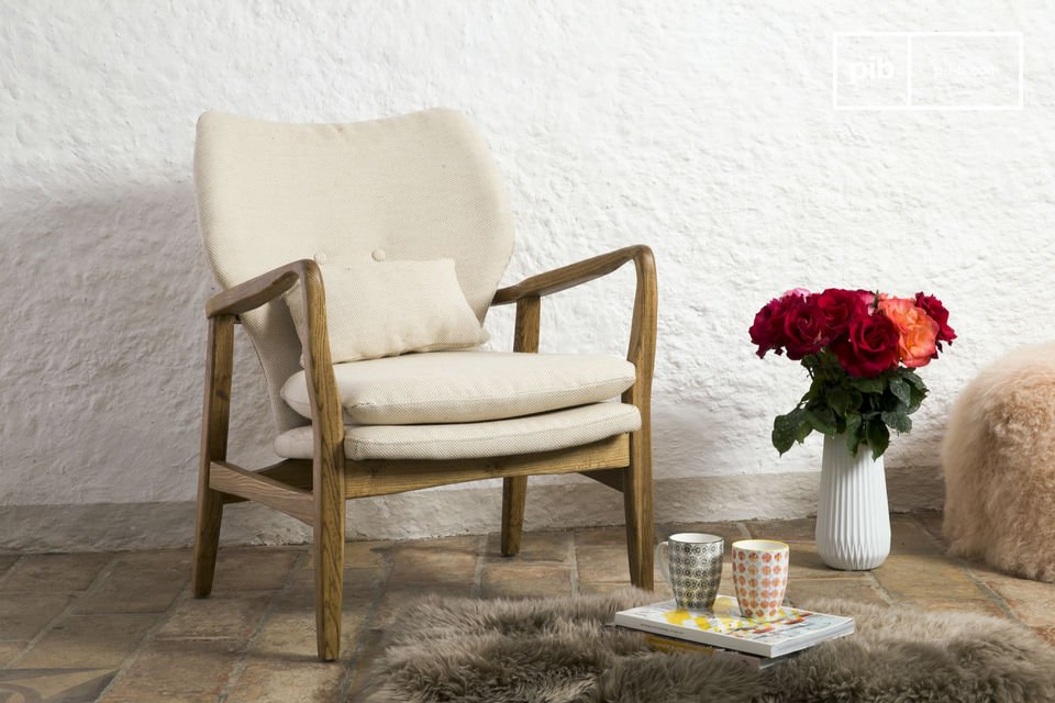 Laat je verleiden door de charmante Breda fauteuil