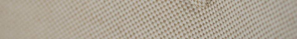 Benadrukte materialen Breda fauteuil