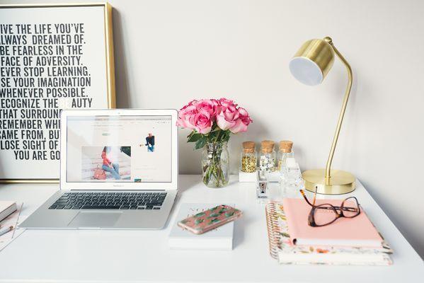bright Home Office design
