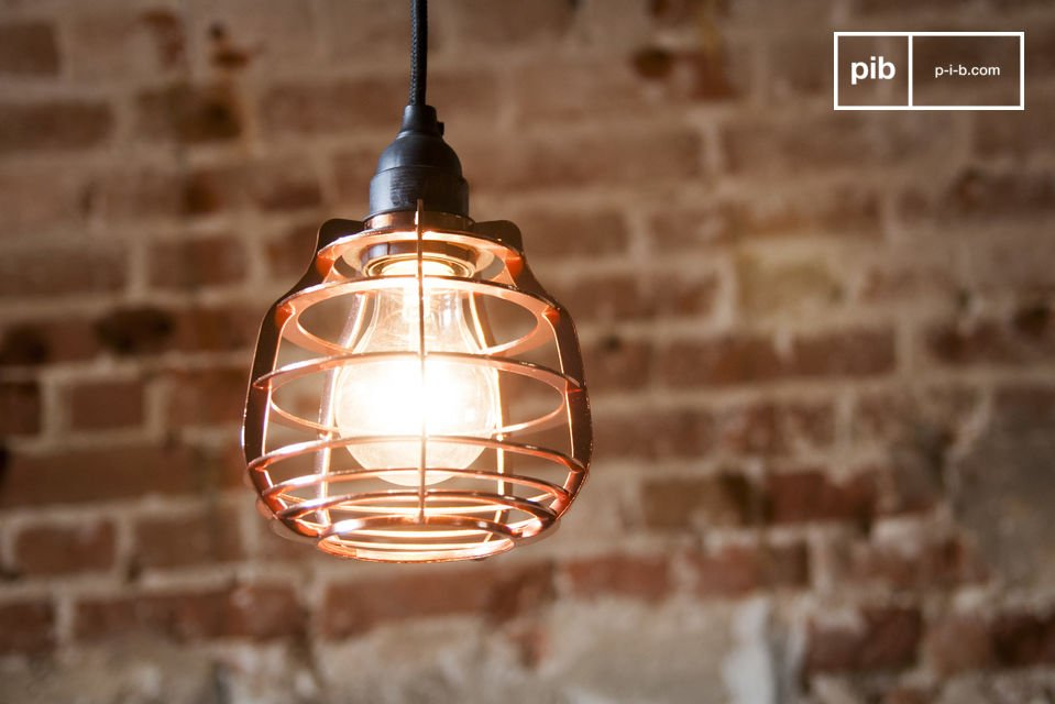 Bristol koperen hanglamp