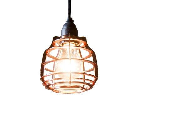Bristol koperen hanglamp Productfoto