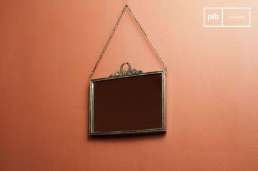 Bronzen Flèche Spiegel
