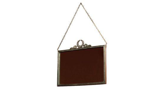 Bronzen Flèche Spiegel Productfoto
