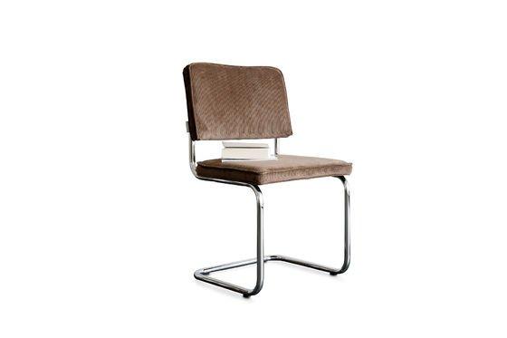 Bruine Ridge Rib stoel Productfoto