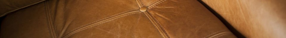 Benadrukte materialen Bushley fauteuil