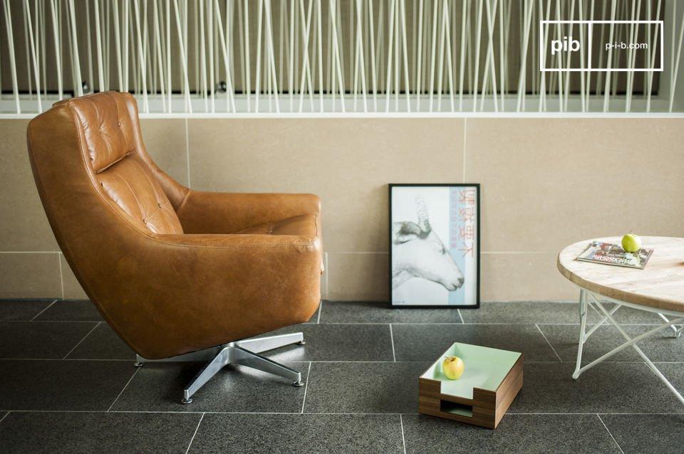 Het Bushley fauteuil is een perfect voorbeeld van designmeubels van de jaren 60