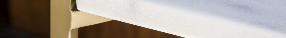 Benadrukte materialen Bylille plank met vier niveaus