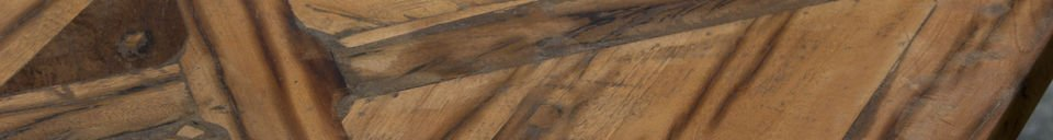 Benadrukte materialen Cadé tafel 180cm