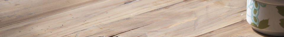 Benadrukte materialen Cadynam salontafel