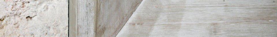 Benadrukte materialen Café schoolbord 115x190cm