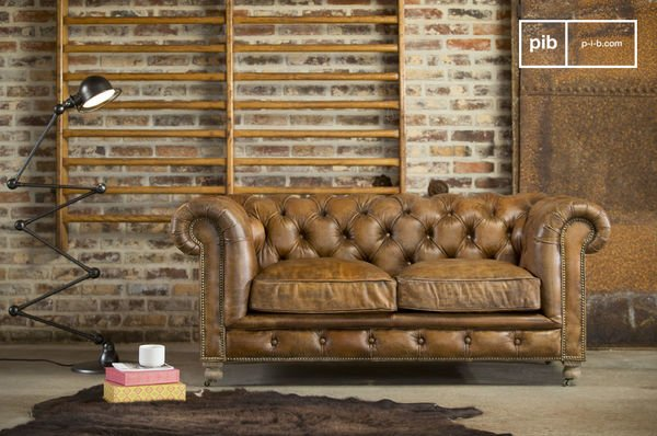 Canape Chesterfield Saint Paul