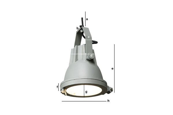 Productafmetingen Cast hanglamp