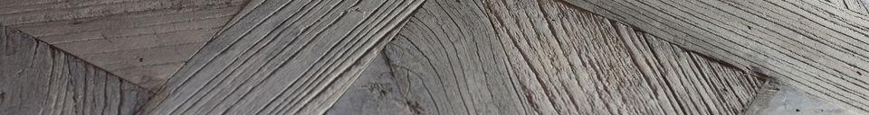 Benadrukte materialen Charpente salontafel