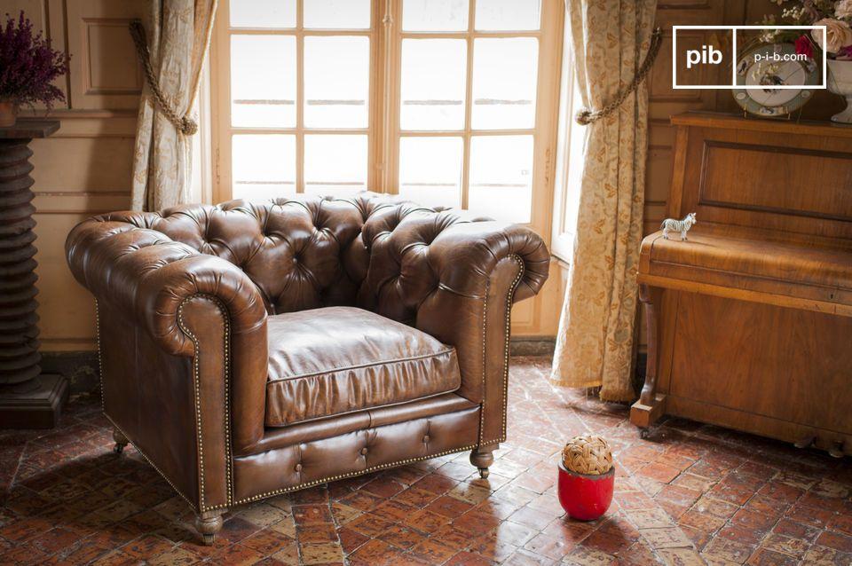 Breng een Engelse clubsfeer naar jouw woonkamer met de Saint Paul fauteuil