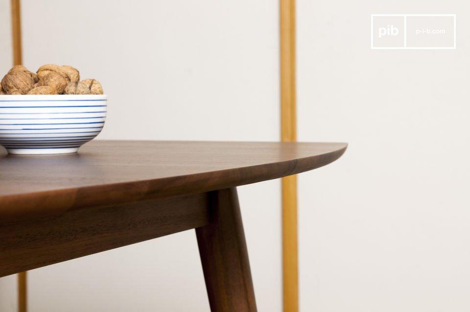 Massief hout, elegant design en fijne afwerking