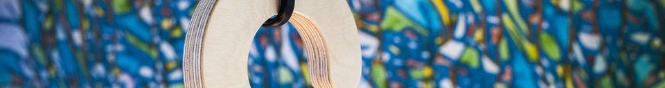 Benadrukte materialen Cintrée hanglamp