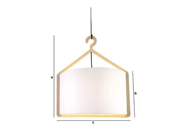 Productafmetingen Cintrée hanglamp