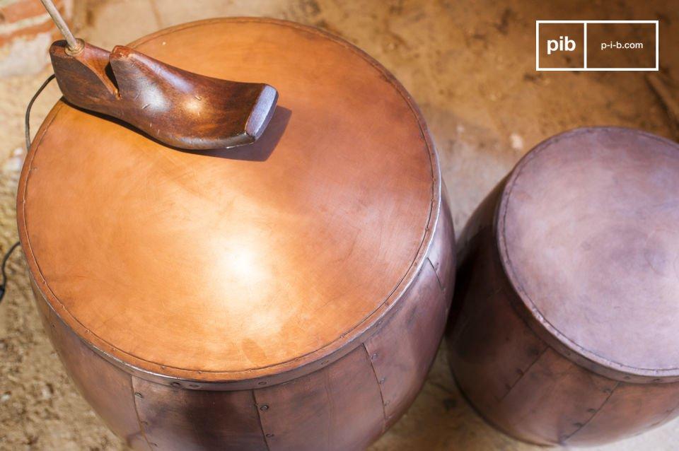 De twee Cobré tafels zijn absoluut unieke meubelstukken