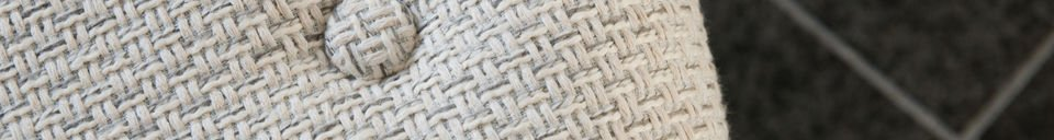 Benadrukte materialen Colombine fauteuil