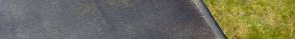 Benadrukte materialen Compiègne tuintafel