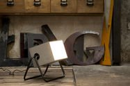 Concrete up lamp