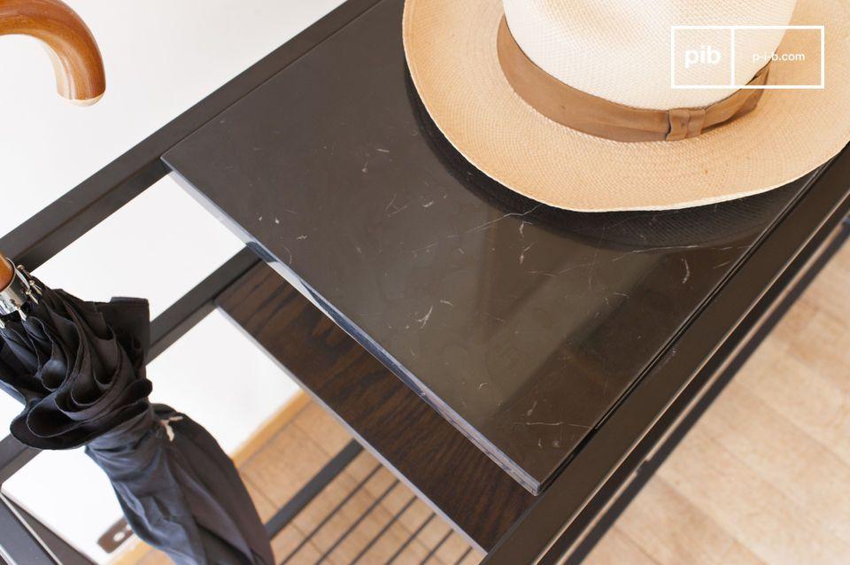 Ideal in een inkomhal maar ook om een wandpaneel aan te kleden in een woonkamer