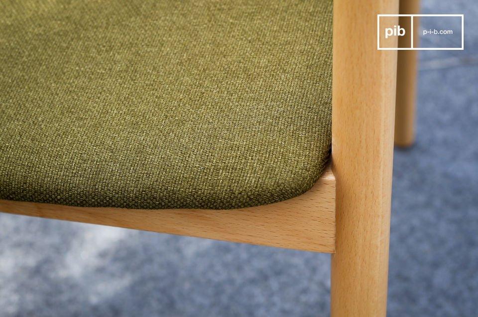 De groene kleur is typerend voor de Scandinavische kleuren uit de jaren \'50