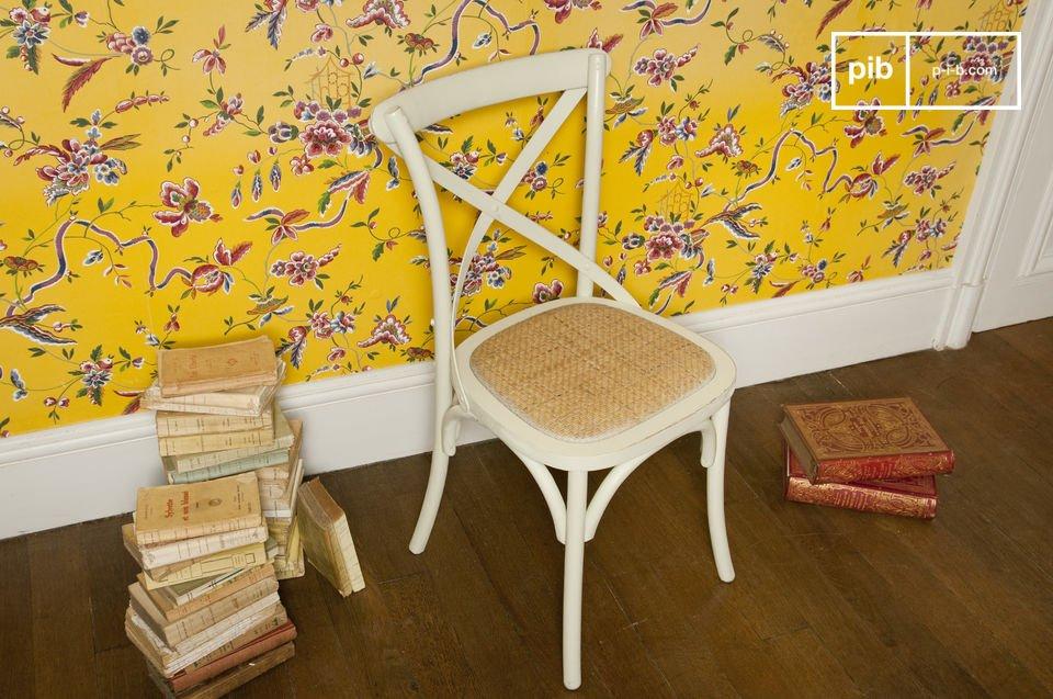 Crèmekleurige Pampelune stoel