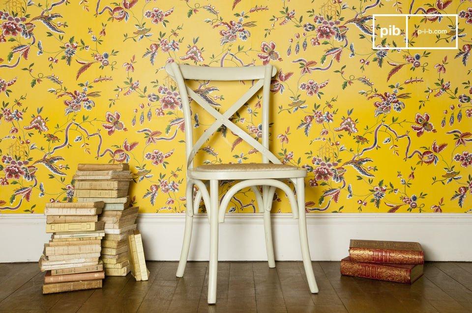 Zachte tinten voor een robuuste en comfortabele stoel
