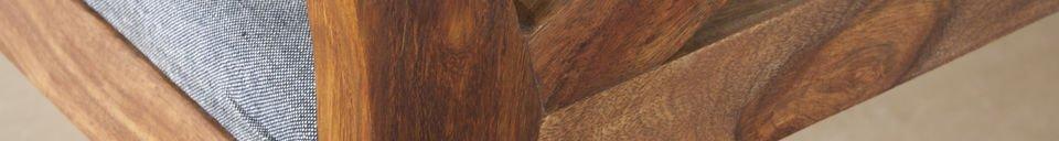 Benadrukte materialen Danish 54 stoel