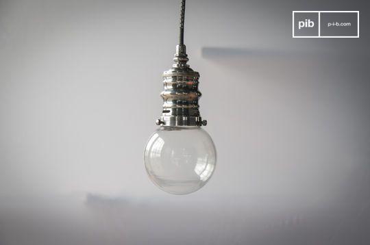 Darwin zilveren hanglamp