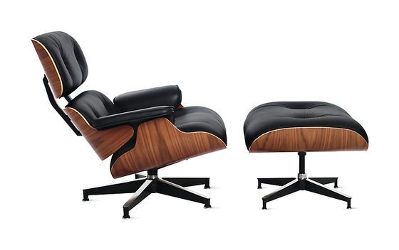 De Eames Lounge Chair en Ottoman
