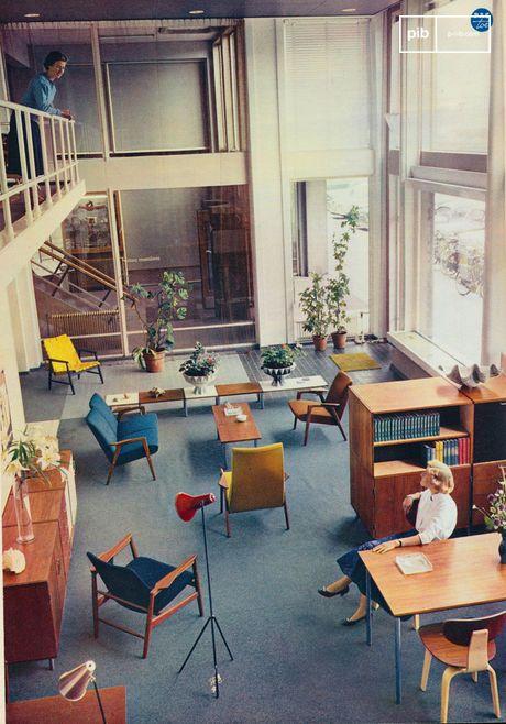 De jaren 50 - 60 worden beschouwd als de hoogtijdagen van meubilair en interieurdesign
