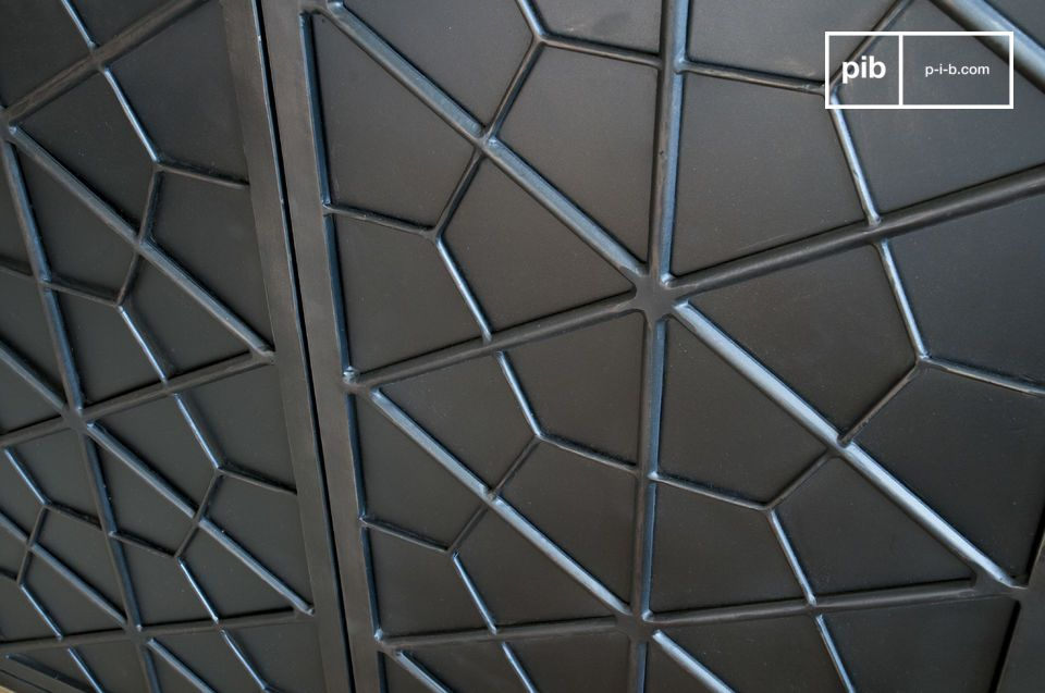 Deze geometrische motieven doen denken aan meubels uit de eerste helft van de 20e eeuw
