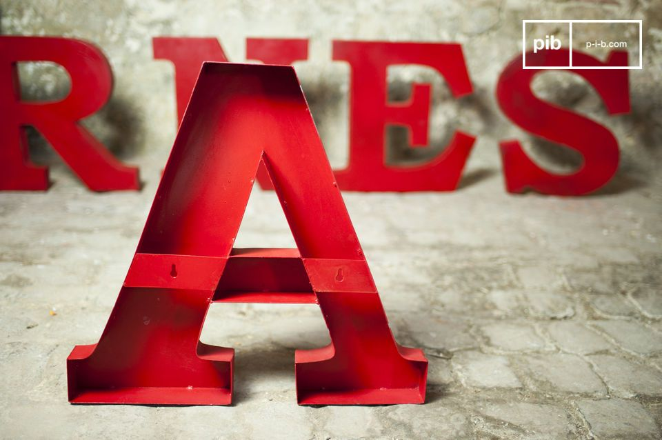Mix tussen de vintage stijl en popart typografie die resulteert in een geweldig decoratief