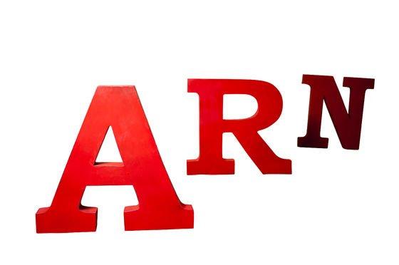 Decoratieve letter A Productfoto