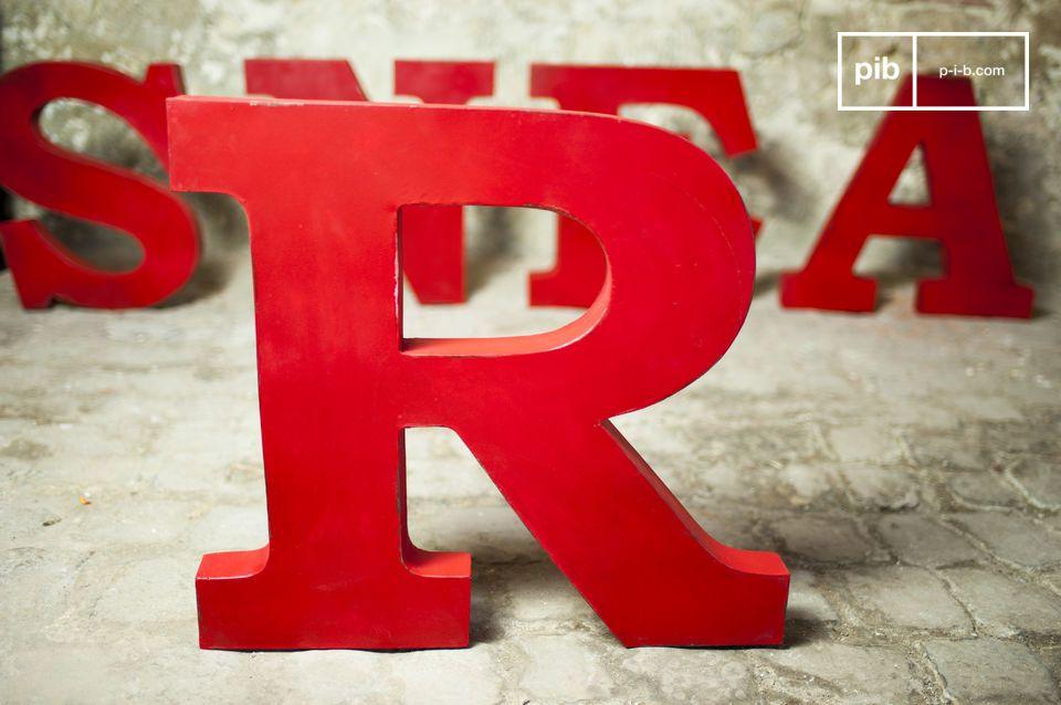 Decoratieve letter R