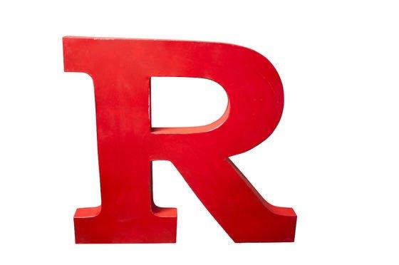 Decoratieve letter R Productfoto