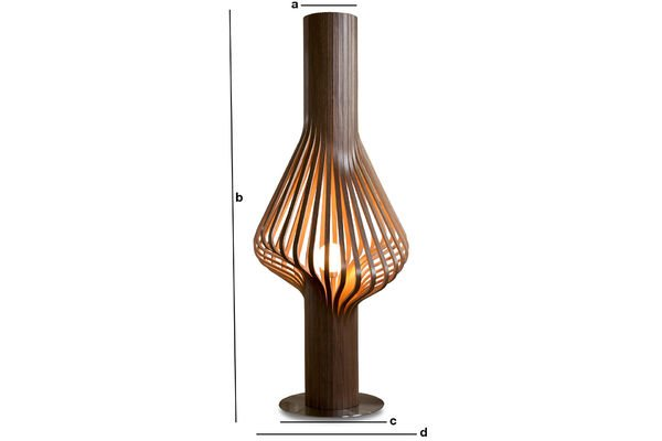 Productafmetingen Diva woonkamer lamp