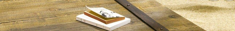Benadrukte materialen Domancy salontafel