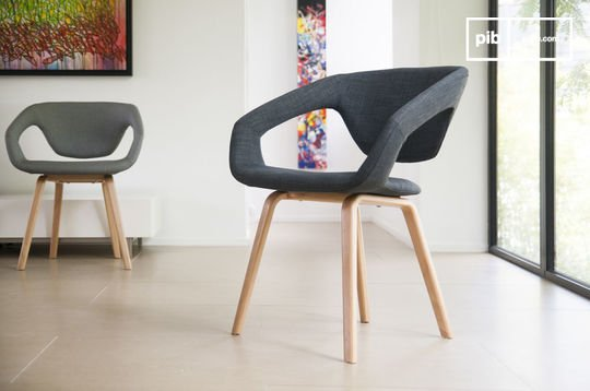 Donker Tobago fauteuil