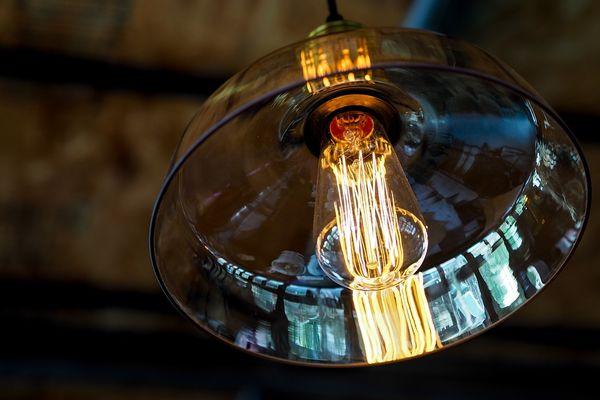 doorzichtige hanglamp