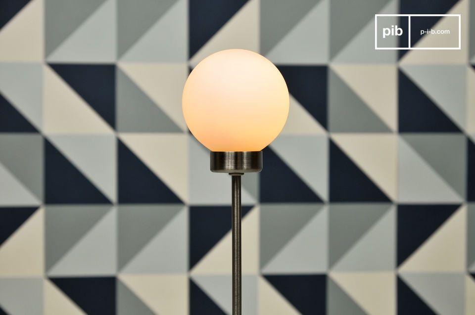 De standaard douglas lamp is een minimalistische