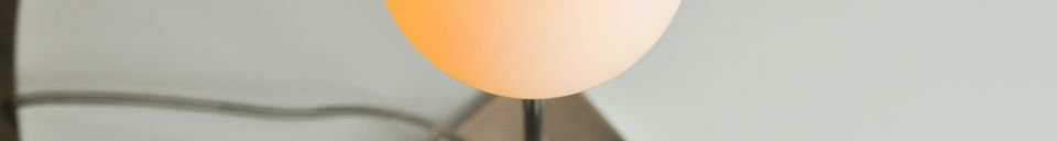 Benadrukte materialen Douglas lamp