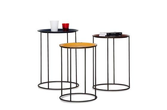 Driekleurige Gigogne tafel Productfoto
