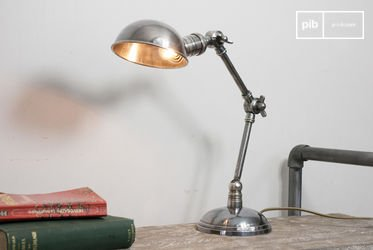 Dubbele verzilverde lamp