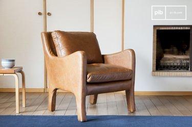 Edinburgh lederen fauteuil