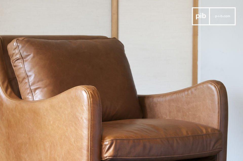 Precieze bochten, vintage elegantie en kwaliteit leer