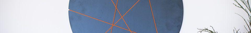 Benadrukte materialen Eerolinn wandfotolijst