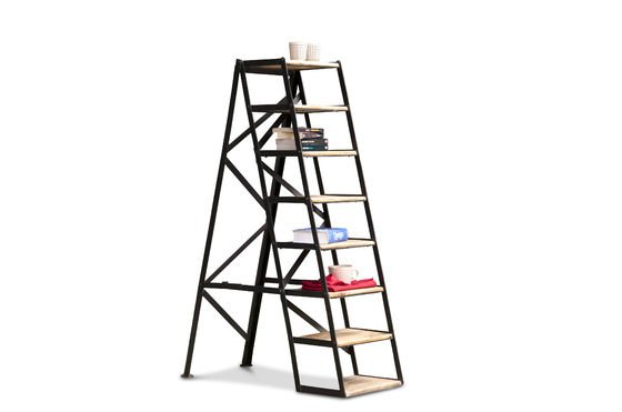 Eight-step studio ladder Productfoto